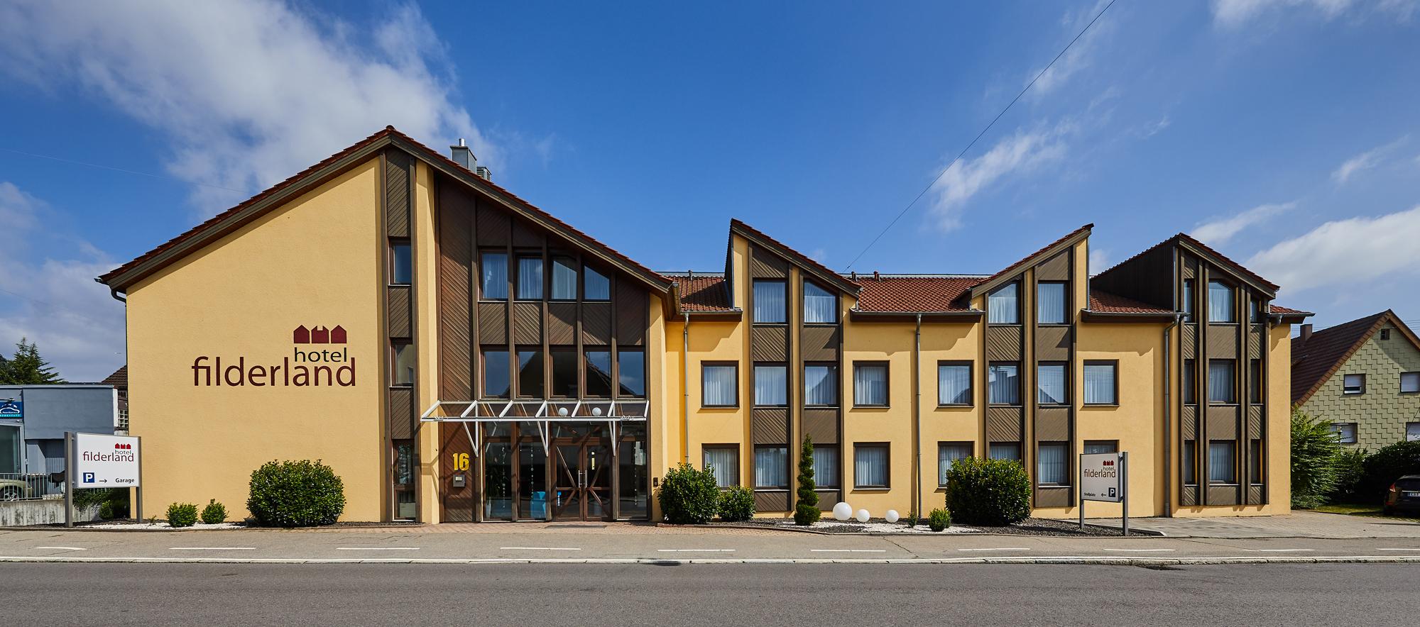 Frontansicht_Messehotel Airport-Hotel StuttgartHotel Filderland Leinfelden Echterdingen